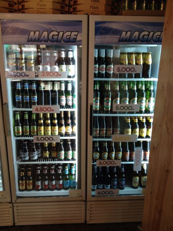 Lots of international beers to choose from (Photo: Bonny's Pub, facebook