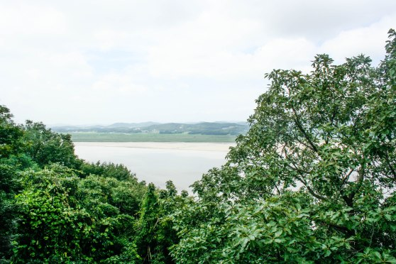 The view from Odusan Observatory: staring out into North Korea from the South