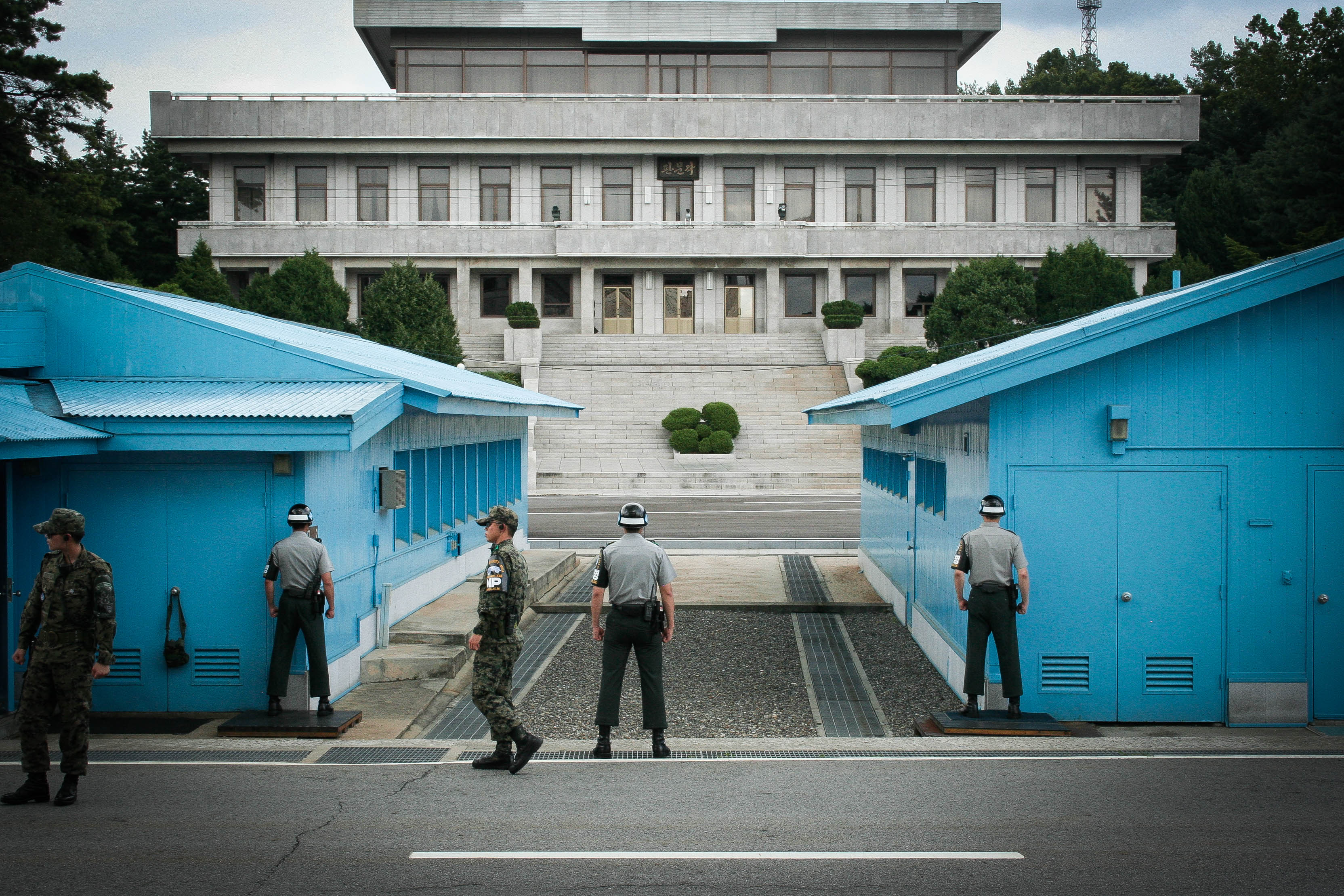 Image Result For North Korea South Korea Meeting Room