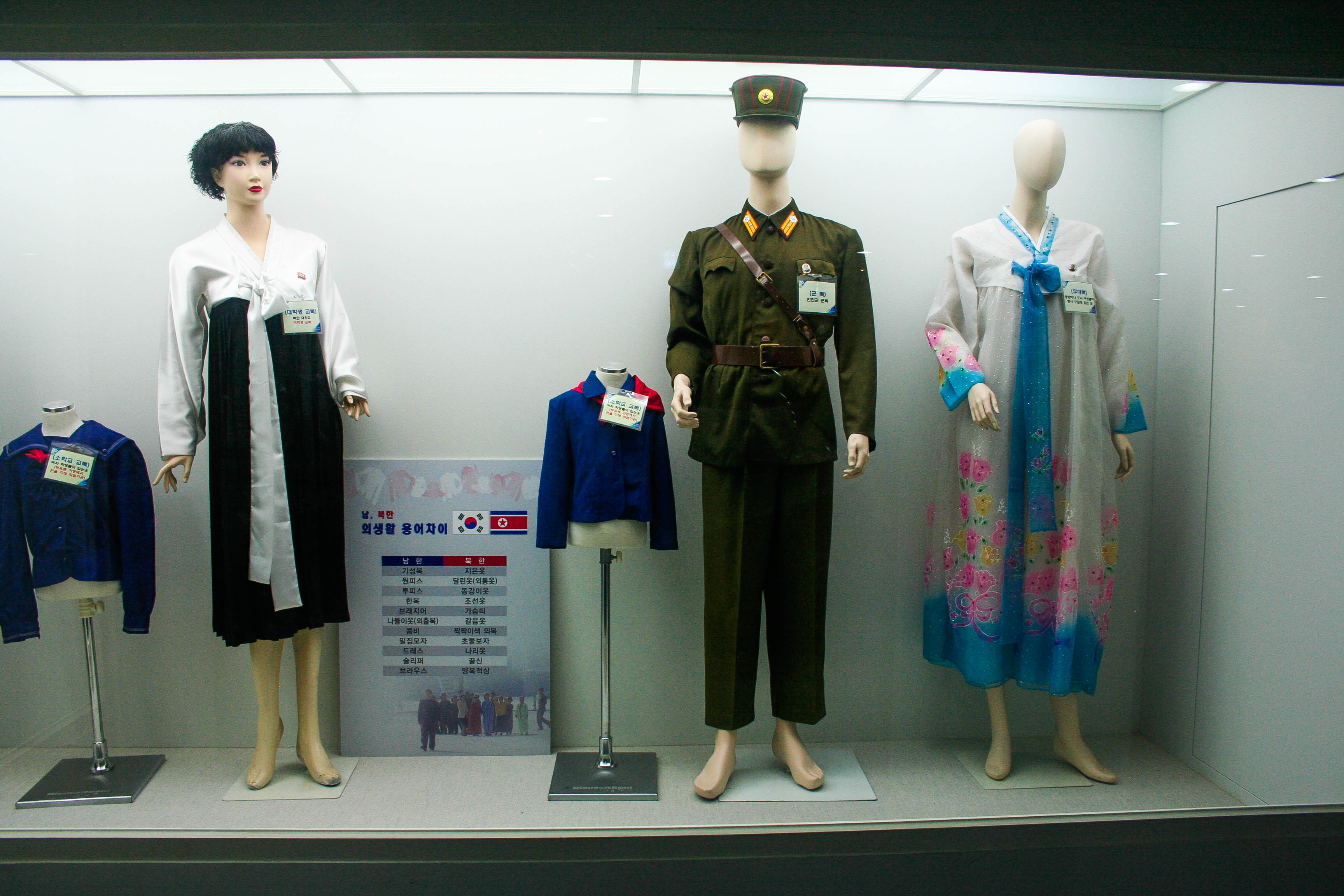 My trip to the jsa and dmz from kd to kimchi typical north korean clothes sciox Image collections