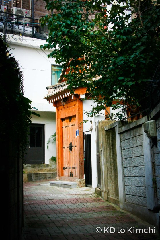 Alleyway in Samcheong-dong