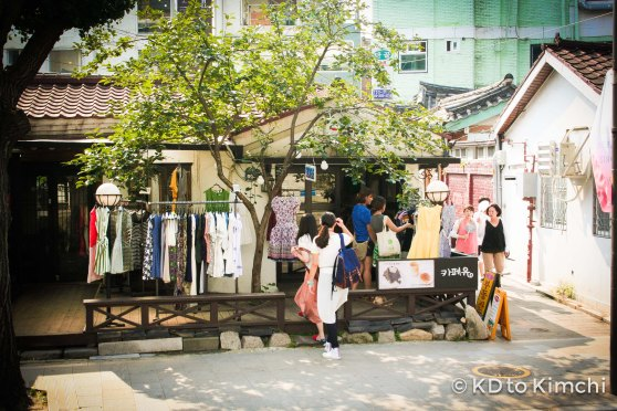 Locals browsing in a boutique