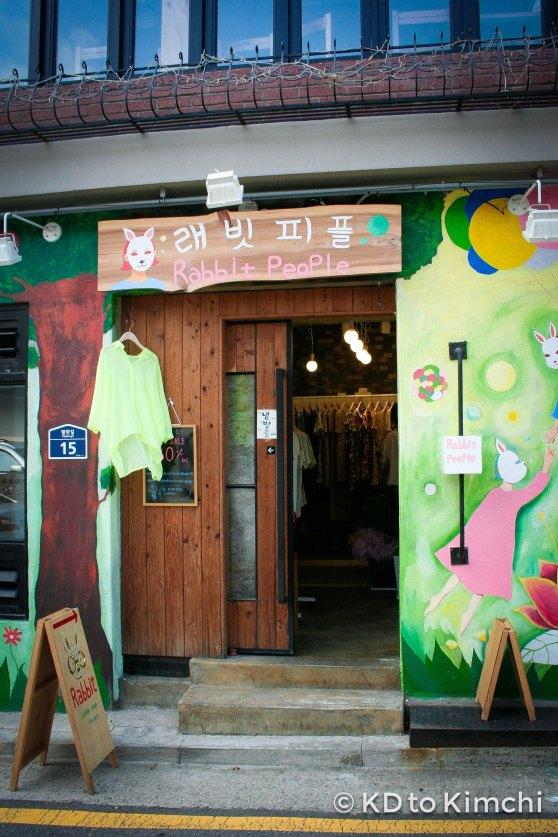 Artsy storefront